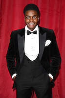 Duayne Boachie<br /> arrives for the British Soap Awards 2016 at Hackney Empire, London.<br /> <br /> <br /> &copy;Ash Knotek  D3124  28/05/2016