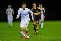 Monday 16 January 2017<br /> Pictured: Alex Bray Swansea City <br /> Re: During the Swansea City U23's match against Newcastle United U23's at the Landore Training facility, Swansea Wales UK