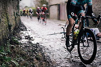 oooops...<br /> slippery cobbles!<br /> <br /> 51th Le Samyn 2019 <br /> Quaregnon to Dour (BEL): 200km<br /> <br /> ©kramon