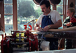 Making taffy in Provincetown