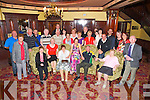 Brenda and Joe O'Doherty, pictured with their family and friends as they celebrated their 40th wedding anniversary in the Killarney Avenue Hotel on Friday night. ................................................................................................................................................................................................................................
