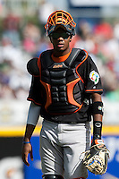 7 March 2009: #50 Kenley Jansen of the Netherlands is seen during the 2009 World Baseball Classic Pool D match at Hiram Bithorn Stadium in San Juan, Puerto Rico. Netherlands pulled off a huge upset in their World Baseball Classic opener with a 3-2 victory over Dominican Republic.