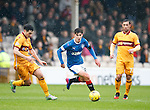 Emerson Hyndman powering his way through midfield