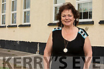 Miss Miriam Casey on her retirement in Bouleenshere NS Ballyheigue on Thursday morning.<br />  .