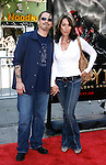 """Kurt Sutter and wife actress Katey Sagal arrive at the 2008 Los Angeles Film Festival's """"HellBoy: II The Golden Army"""" Premiere at the Mann Village Westwood Theater on June 28, 2008 in Westwood, California."""