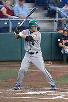 July 19, 2007: Boise Hawks' Josh Donaldson batting against the Everett AquaSox in a Northwest League game at Everett Memorial Stadium in Everett, Washington.
