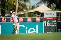 Gonzalo Fedz-Castano (ESP) during the 1st round of the AfrAsia Bank Mauritius Open, Four Seasons Golf Club Mauritius at Anahita, Beau Champ, Mauritius. 29/11/2018<br /> Picture: Golffile | Mark Sampson<br /> <br /> <br /> All photo usage must carry mandatory copyright credit (&copy; Golffile | Mark Sampson)