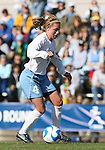 24 November 2007: North Carolina's Meghan Klingenberg. The University of Notre Dame Fighting Irish defeated University of North Carolina Tar Heels 3-2 at Fetzer Field in Chapel Hill, North Carolina in a Third Round NCAA Division I Womens Soccer Tournament game.