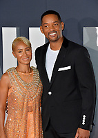 "LOS ANGELES, USA. October 07, 2019: Will Smith & Jada Pinkett Smith at the premiere of ""Gemini Man"" at the TCL Chinese Theatre, Hollywood.<br /> Picture: Paul Smith/Featureflash"