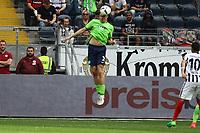 Kopfballabwehr Philipp Wollscheid (VfL Wolfsburg) - 06.05.2017: Eintracht Frankfurt vs. VfL Wolfsburg, Commerzbank Arena, 32. Spieltag