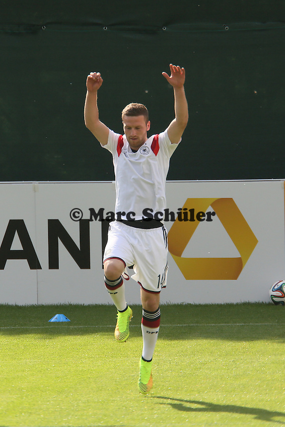Shkodran Mustafi - Testspiel der Deutschen Nationalmannschaft gegen die U20 zur WM-Vorbereitung in St. Martin