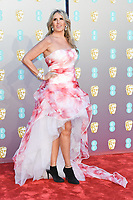 Tiziana Rocca<br /> arriving for the BAFTA Film Awards 2019 at the Royal Albert Hall, London<br /> <br /> ©Ash Knotek  D3478  10/02/2019