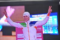 SCHAATSEN: BERLIJN: Sportforum, 08-12-2013, Essent ISU World Cup, podium 5000m Men Division A, Jan Blokhuijsen (NED), ©foto Martin de Jong