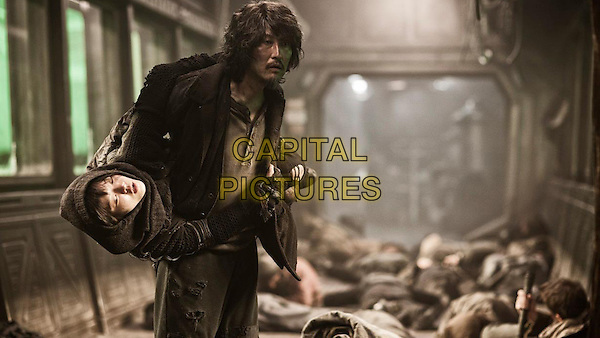 Ah-sung Ko, Kang-ho Song<br /> in Snowpiercer (2013) <br /> *Filmstill - Editorial Use Only*<br /> CAP/FB<br /> Image supplied by Capital Pictures