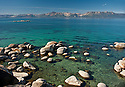 Lake Tahoe Landscape Southshore Clear Water