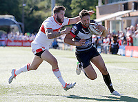 Matt Garside in action for London during the Super 8 Qualifying game between London Broncos and Hull Kingston Rovers at Ealing Trailfinders, Ealing, on Sun Sept 11, 2016