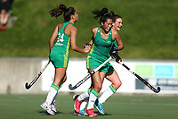 Auckland v Central, women's final. 2019 National Hockey Under-18 Tournament at National Hockey Stadium in Wellington, New Zealand on Saturday, 13 July 2019. Photo: Hagen Hopkins / www.hagenhopkins.co.nz