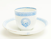 BNPS.co.uk (01202 558833)<br /> Pic: Forum Auctions/BNPS<br /> <br /> Possessions include his 'Arctic' china tea cup and saucer<br /> <br /> An archive belonging to a British naval officer who took part in an ill-fated attempt to reach the North Pole 144 years ago has sold for over £75,000.<br /> <br /> Reginald Baldwin Fulford's mementos of the British Arctic Expedition of 1875-76 were sold by his descendants with Forum Auctions, of London.<br /> <br /> They included previously unseen photos, his metal framed snow glasses, his 'Arctic' china tea cup and saucer, his Arctic Medal, his naval officer's dress sword and a silk sledge flag.<br /> <br /> The collection had been expected to fetch £10,000, but sparked fervent bidding on the day - achieving over seven times their estimate.<br /> <br /> The expedition, led by Sir George Strong Nares, sailed from Portsmouth, Hants, on two ships, HMS Alert and HMS Discovery, on May 29, 1875.