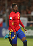 Spain's Inaki Williams during the UEFA Under 21 Final at the Stadion Cracovia in Krakow. Picture date 30th June 2017. Picture credit should read: David Klein/Sportimage