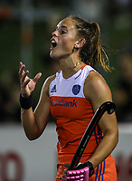 during the World Hockey League final between the Netherlands and New Zealand. North Harbour Hockey Stadium, Auckland, New Zealand. Sunday 26 November 2017. Photo:Simon Watts / www.bwmedia.co.nz