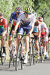 Yoann Offredo (FRA) Wanty-Gobert Cycling Team in action during the Criterium Castillon La Bataille 2019 the first criterium after the Tour de France held around Ville de Castillon-la-Bataille, France. 6th August 2019.<br /> Picture: Colin Flockton | Cyclefile<br /> All photos usage must carry mandatory copyright credit (© Cyclefile | Colin Flockton)