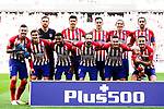 Atletico de Madrid squad pose for team photo during the La Liga 2018-19 match between Atletico de Madrid and Real Betis at Wanda Metropolitano Stadium on October 07 2018 in Madrid, Spain. Photo by Diego Souto / Power Sport Images