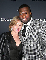 CULVER CITY, CA - MARCH 7: Curtis &quot;50 Cent&quot; Jackson, Linda Purl, pictured at Crackle's The Oath Premiere at Sony Pictures Studios in Culver City, California on March 7, 2018. <br /> CAP/MPIFS<br /> &copy;MPIFS/Capital Pictures