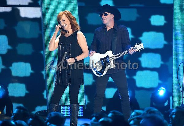 10 June 2015 - Nashville, Tennessee - Reba McEntire. 2015 CMT Music Awards held at Bridgestone Arena. Photo Credit: Laura Farr/AdMedia