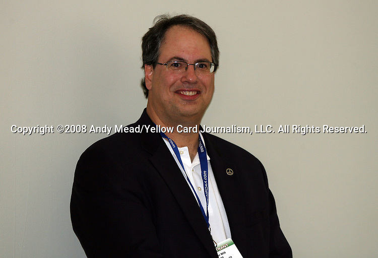 19 January 2008: Chicago President and CEO Peter Wilt. Women's Professional Soccer held a Town Hall Meeting at the 2008 National Soccer Coaches Association of America's annual convention being held at the Convention Center in Baltimore, Maryland.