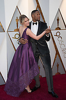 Sara Haines and Michael Strahan arrives on the red carpet of The 90th Oscars&reg; at the Dolby&reg; Theatre in Hollywood, CA on Sunday, March 4, 2018.<br /> *Editorial Use Only*<br /> CAP/PLF/AMPAS<br /> Supplied by Capital Pictures