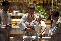 baptism at St James Church in Mahattan,