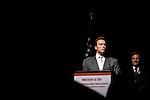 California Governor Arnold Schwarzenegger hosts California's first-ever Cyber Safety Summit in Sacramento, CA on Wednesday, October 18, 2006.
