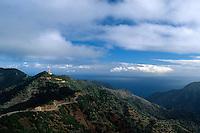 Berge bei Epina, Gomera, Kanarische Inseln, Spanien