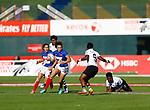 Caroline Drouin, Womens Sevens on 29 November, Dubai Sevens 2018 at The Sevens for HSBC World Rugby Sevens Series 2018, Dubai - UAE - Photos Martin Seras Lima