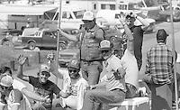 NASCAR fans Motorcraft 500 at Atlanta International Raceway in Hampton, GA on March 16, 1986.   (Photo by Brian Cleary/www.bcpix.com)
