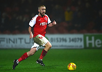 Fleetwood Town's Paddy Madden goes clear to score his side's third goal<br /> <br /> Photographer Richard Martin-Roberts/CameraSport<br /> <br /> The EFL Sky Bet League One - Fleetwood Town v Doncaster Rovers - Wednesday 26th December 2018 - Highbury Stadium - Fleetwood<br /> <br /> World Copyright © 2018 CameraSport. All rights reserved. 43 Linden Ave. Countesthorpe. Leicester. England. LE8 5PG - Tel: +44 (0) 116 277 4147 - admin@camerasport.com - www.camerasport.com