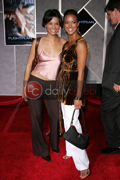 "Lara LaRue and Eva LaRue<br /> At the premiere of ""Flightplan"", El Capitan Theater, Hollywood, CA 09-19-05<br /> David Edwards/DailyCeleb.Com 818-249-4998"