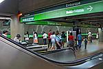 Estação do metro Trianon. São Paulo. 2008. Foto de Juca Martins.