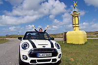 Sylt, Germany.<br /> Our Sixt Mini Cooper S Cabriolet at Ellenbogen. Nicole Schmidt.