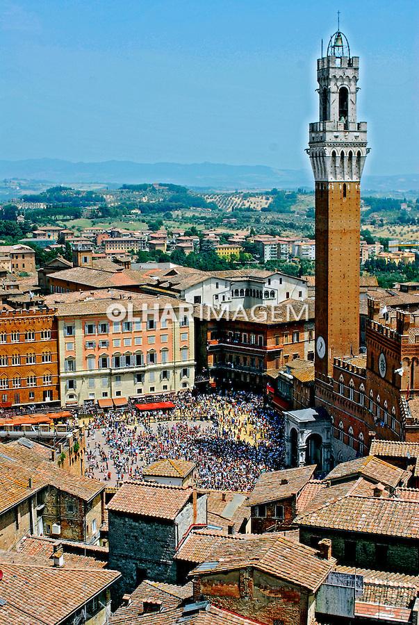 Cidade de Siena. Toscana. Itália. 2006. Foto de Luciana Whitaker.