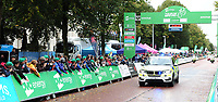 Picture by Simon Wilkinson/SWpix.com - 10/09/2017 - Cycling - OVO Energy Tour of Britain - Stage 8 Worcester to Cardiff - final stage<br /> Finish Cardiff - podiums Police BMW