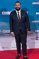 "Spanish actor Rober Bodegas during the premiere of ""Cuerpo de Elite"" at Capitol cinema. Madrid. August 25, 2016. (ALTERPHOTOS/Rodrigo Jimenez) /NORTEPHOTO"