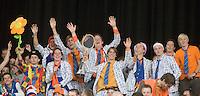 19-9-08, Netherlands, Apeldoorn, Tennis, Daviscup NL-Zuid Korea, First rubber  Dutch supporters