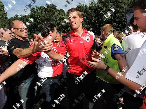 2011-08-07 / Voetbal / seizoen 2011-2012 / Fandag R. Antwerp FC / Kevin Oris..Foto: mpics