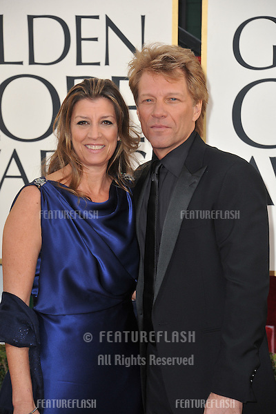 Jon Bon Jovi at the 70th Golden Globe Awards at the Beverly Hilton Hotel..January 13, 2013  Beverly Hills, CA.Picture: Paul Smith / Featureflash