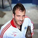Duitsland, Gelsenkirchen, 28 april  2013.Seizoen 2012-2013.Bundersliga.FC Schalke 04 - Hamburger SV.Rafael van der Vaart van Hamburger SV
