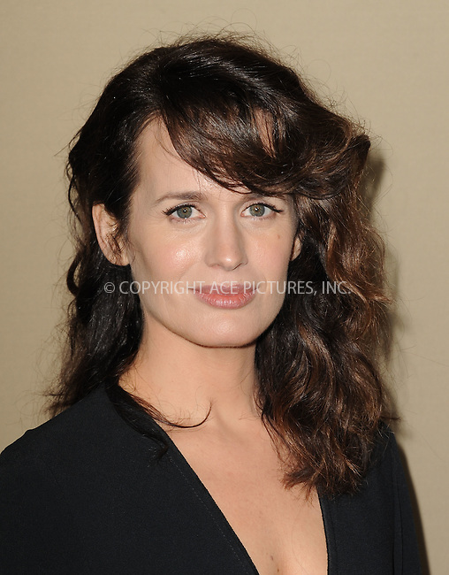WWW.ACEPIXS.COM<br /> <br /> October 3 2015, LA<br /> <br /> Elizabeth Reaser arriving at the premiere of FX's 'American Horror Story: Hotel' at the Regal Cinemas L.A. Live on October 3, 2015 in Los Angeles, California.<br /> <br /> <br /> By Line: Peter West/ACE Pictures<br /> <br /> <br /> ACE Pictures, Inc.<br /> tel: 646 769 0430<br /> Email: info@acepixs.com<br /> www.acepixs.com