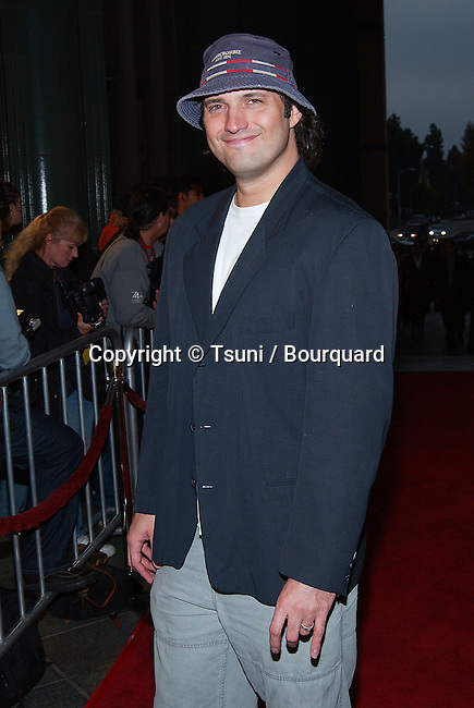 """Robert Rodriguez arriving at the premiere of """" Frida """"  at the County Museum of Art Theatre in Los Angeles. October 14, 2002.           -            RodriguezRobert13.jpg"""