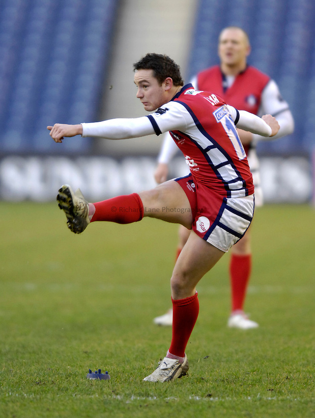 Photo: Jed Wee..Edinburgh Rugby v Gloucester Rugby. Heineken Cup. 17/12/2006...Gloucester's Ryan Lamb.