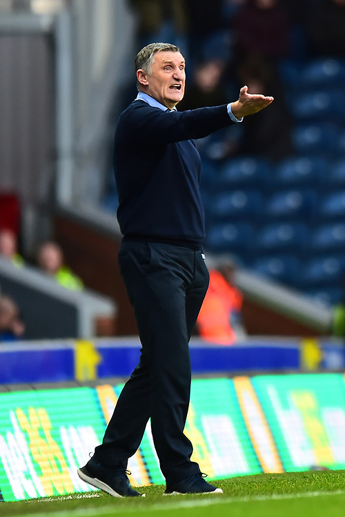 Blackburn Rovers manager Tony Mowbray reacts<br /> <br /> Photographer Richard Martin-Roberts/CameraSport<br /> <br /> The EFL Sky Bet Championship - Blackburn Rovers v West Bromwich Albion - Tuesday 1st January 2019 - Ewood Park - Blackburn<br /> <br /> World Copyright © 2019 CameraSport. All rights reserved. 43 Linden Ave. Countesthorpe. Leicester. England. LE8 5PG - Tel: +44 (0) 116 277 4147 - admin@camerasport.com - www.camerasport.com